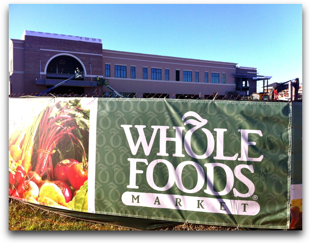 whole foods coming to southpark summer 2012