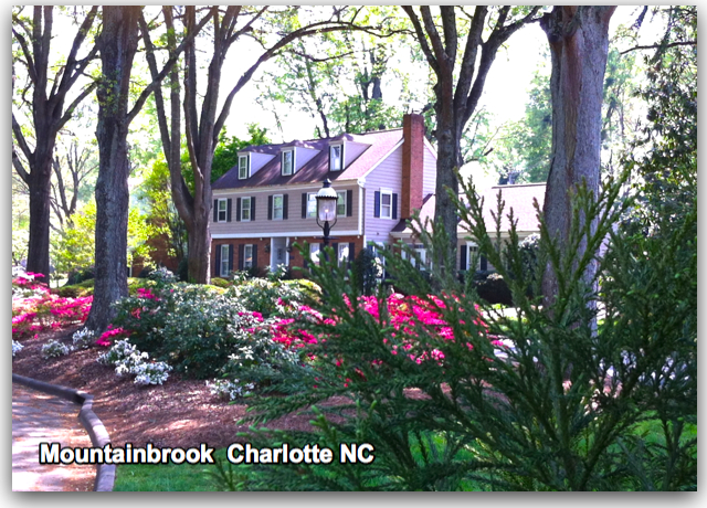 mountainbrook neighborhood charlotte NC MLS