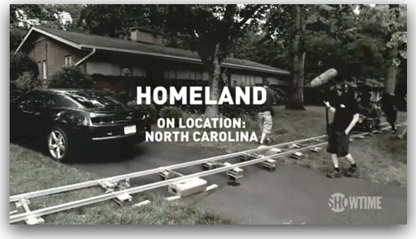 Homeland - On Location_ North Carolina Part 1 - YouTube