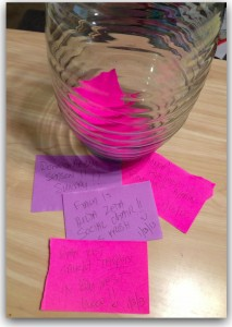 Something Really Great Jar.each time something really great happens in your life jot it down and drop it in the jar