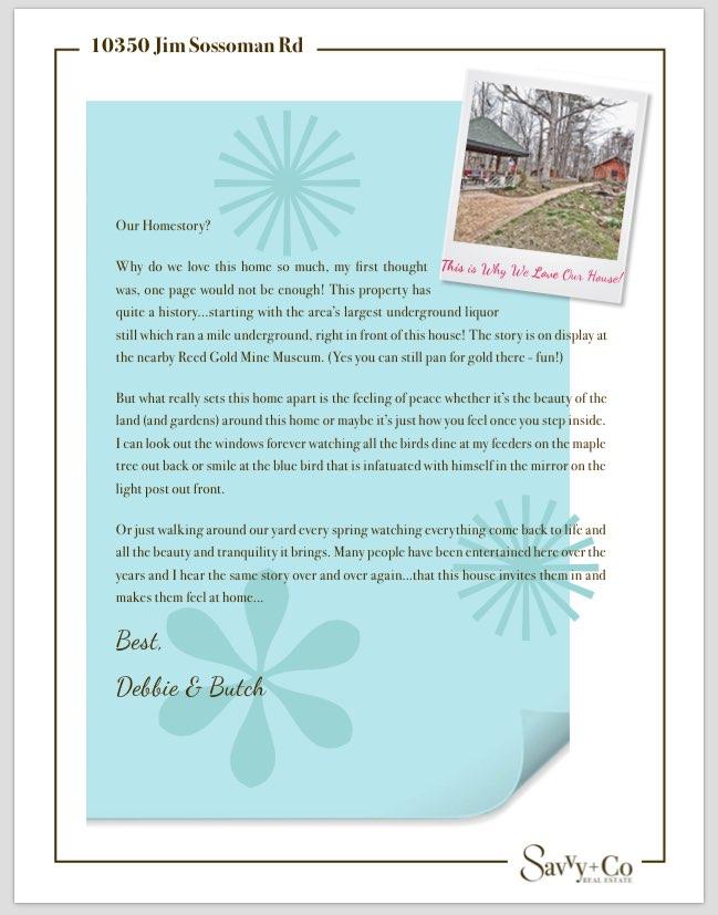 Brochure_10350 Jim Sossoman Rd_Seller Love Letter.pdf (1 page)